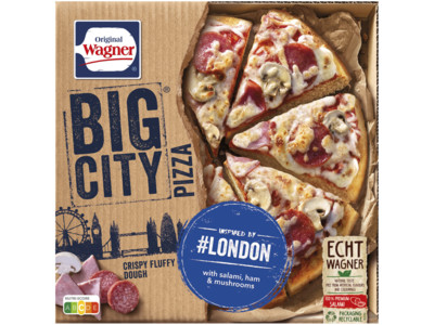 Big city pizza london product foto