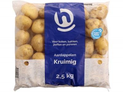Aardappelen kruimig product foto