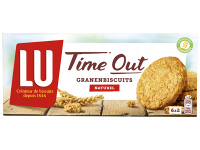 Time out biscuit naturel product foto