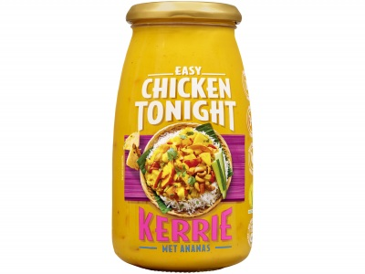Roerbaksaus chicken tonight kerrie product foto