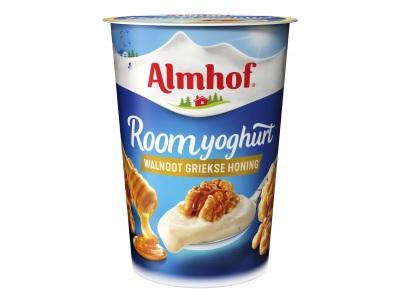 Roomyoghurt walnoot honing product foto