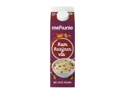 Rum rozijnen vla product foto