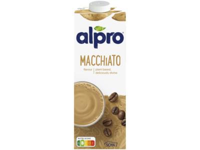 Soya drink macchiato (lactosevrij) product foto