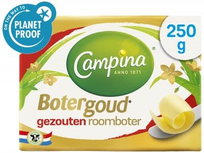Botergoud gezouten roomboter product foto