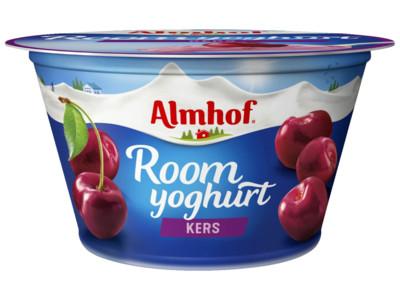 Roomyoghurt kers product foto