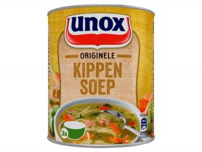 Soep in blik originele kippensoep product foto