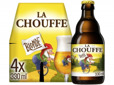 Blond bier pak 4 flesjes product foto
