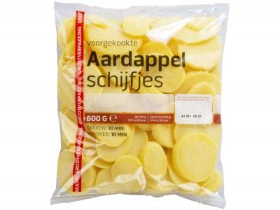 Aardappelschijfjes voordeelverpakking product foto