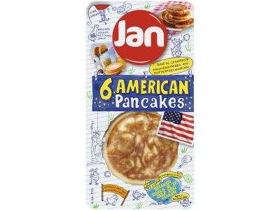 Amerikaanse pancakes product foto