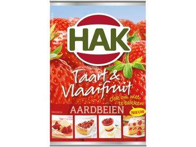 Vlaaifruit aardbeien product foto