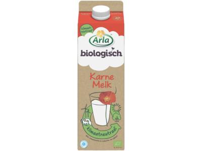Biologische karnemelk product foto
