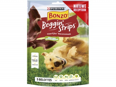 Beggin strips met heerlijke baconsmaak product foto