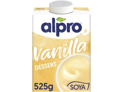 Soya dessert vanille (lactosevrij) product foto