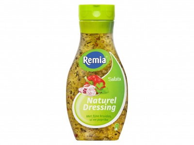 Salata naturel dressing product foto