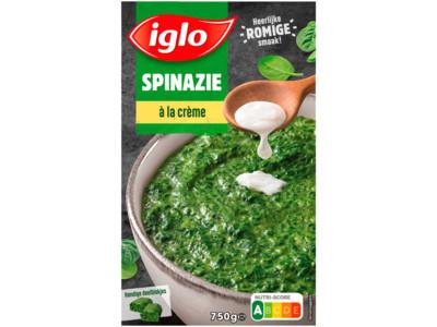 Spinazie à la crème deelblokjes product foto