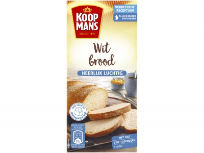 Mix voor wit brood extra luchtig product foto