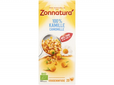 100% kamille thee product foto