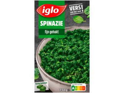 Spinazie fijn gehakt deelblokjes product foto