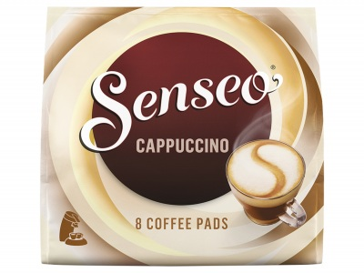 Cappuccino koffiepads product foto