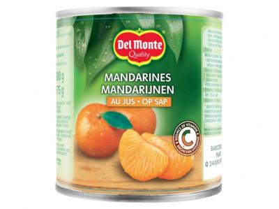 Mandarijnen op sap product foto