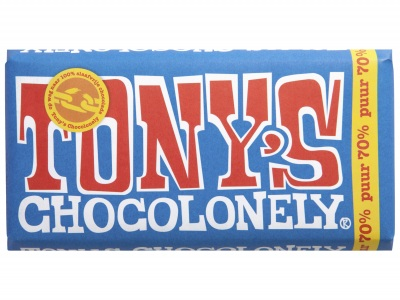 Chocolonely chocoladereep puur product foto