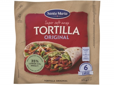 Original wrap tortilla product foto
