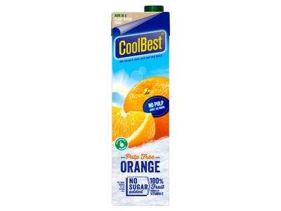 Premium orange zonder vruchtvlees product foto