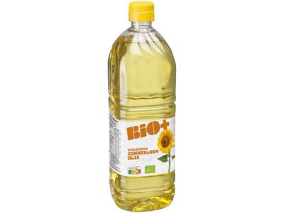Biologische zonnebloemolie product foto