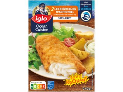 Ocean Cuisine lekkerbekjes traditioneel product foto