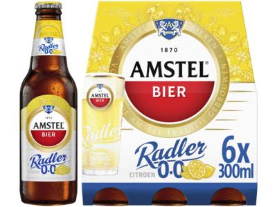 Radler 0.0% citroen pak 6 flesjes product foto