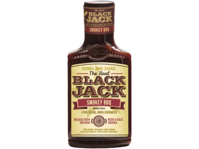 Black jack smokey bbq saus product foto