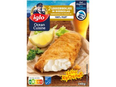 Ocean Cuisine lekkerbekjes in bierbeslag product foto
