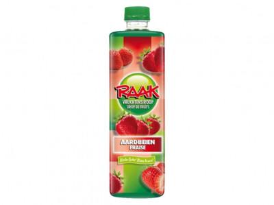 Siroop aardbeien product foto