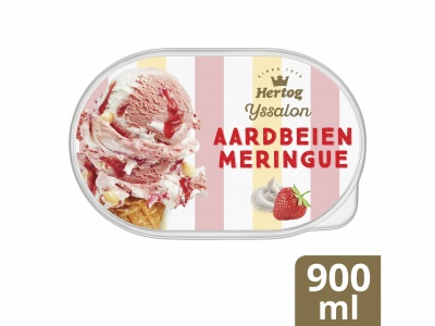 IJssalon Aardbeien Meringue product foto