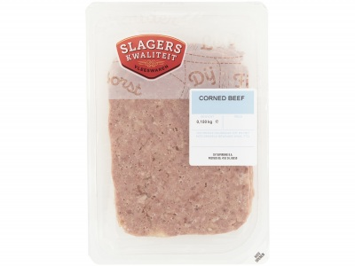 Corned beef product foto