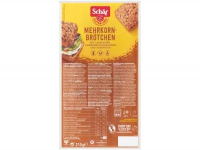 Meergranenbroodjes glutenvrij product foto
