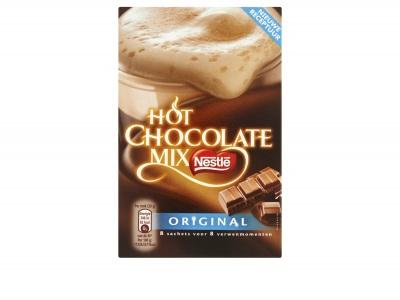 Hot chocolate mix product foto