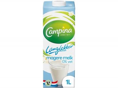 Lang lekker magere melk product foto