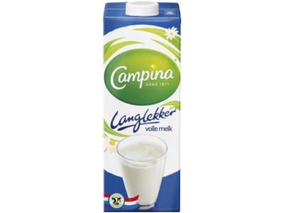 Lang lekker volle melk product foto