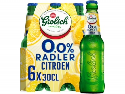 0.0% Radler lemon pak 6 flesjes product foto