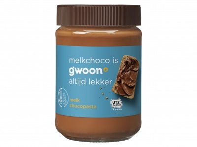 Chocoladepasta melk product foto