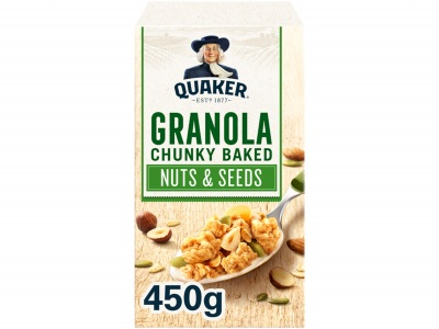 Havermout granola noten & zaden product foto