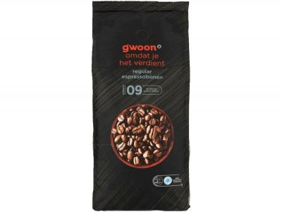 Espressobonen regular product foto