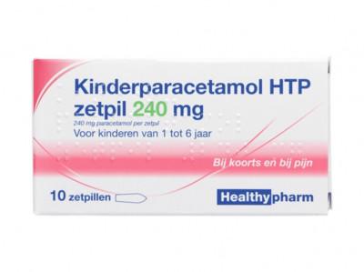 KinderParacetamol zetpil 240 mg product foto