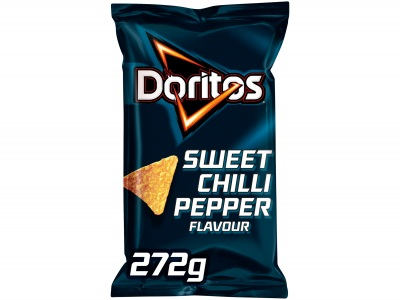 Sweet chilli pepper tortilla chips product foto