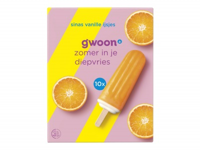 Sinas vanille ijsjes product foto