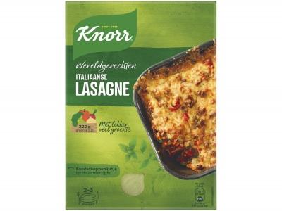 Wereldgerechten lasagne Bolognese product foto