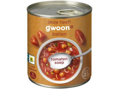 Tomatensoep product foto