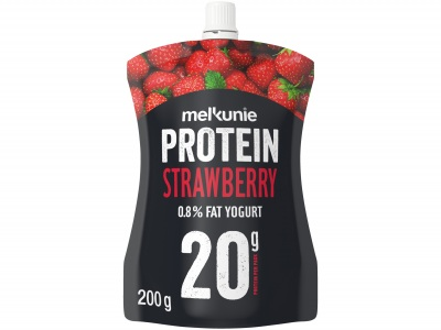 Protein pouch aardbei product foto