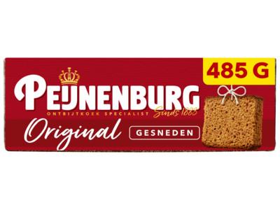 Ontbijtkoek gesneden product foto